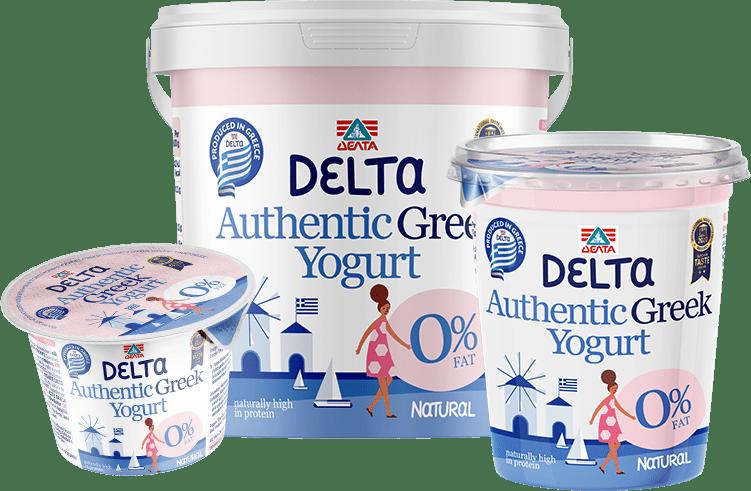 Delta Authentic Greek yogurt – 0% Fat