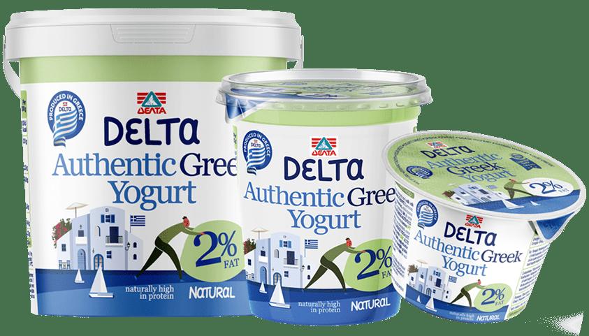 Delta Authentic Greek yogurt – 2% Fat