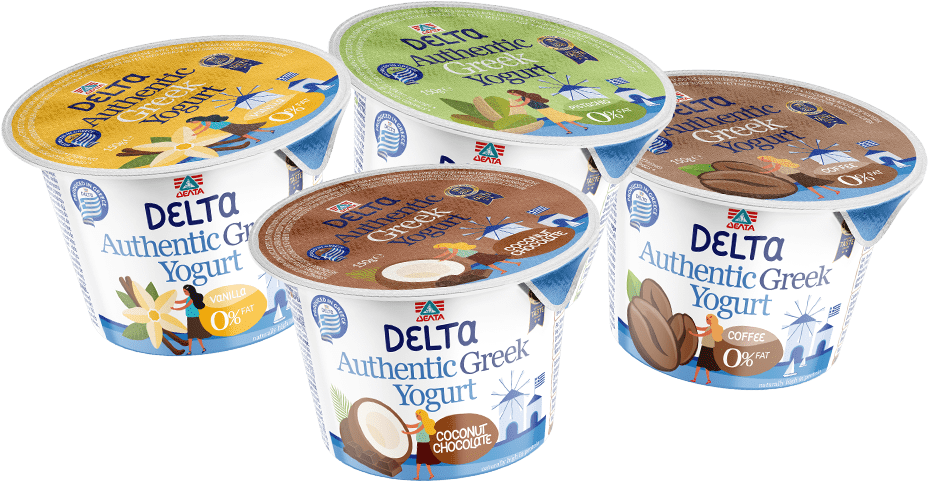 Delta Authentic Greek Indulgent Yogurts