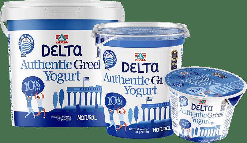 Delta Authentic Greek yogurt – 10% Fat